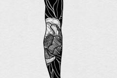 1_eskiz-tatu-rukava-muzhchine-v-stile-blekvork