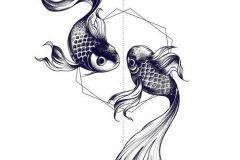 Shikarnyj-eskiz-tatuirovki-ryba