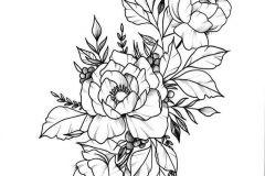 eskiz-tatu-na-zhivot-cvety