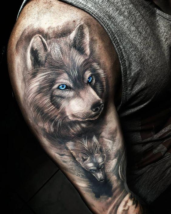 Znachenie tatuirovki volk | LifeTattoo.ru