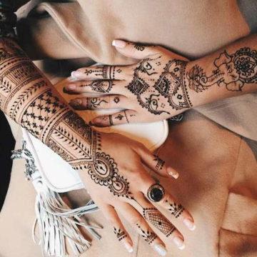 Существуют ли временные татуировки? Виды временных тату