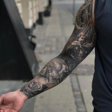 Фото тату на руке для мужчин