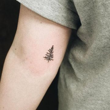 Как временно скрыть татуировку