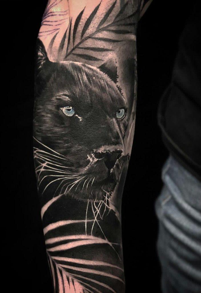 Значение тату пантера3