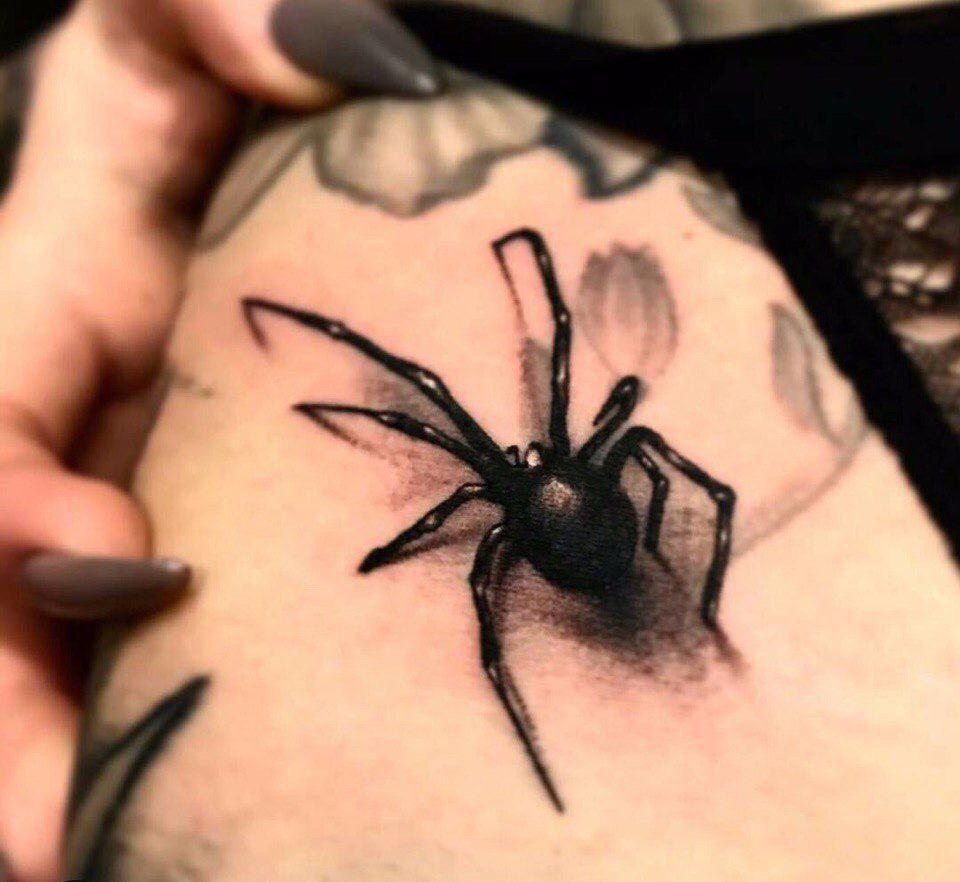 Значение тату паук