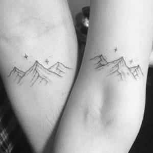 Значение тату горы